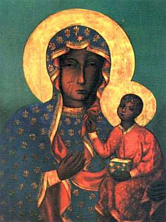 'Black Madonna' Our Lady of Czestochowa (St. Luke)