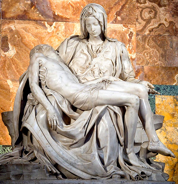 Pieta | Mary, Mother of the Sorrowful Heart