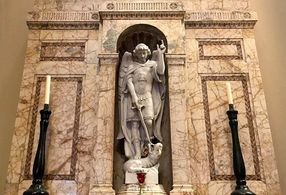 O Glorious Archangel St. Michael, defend us!