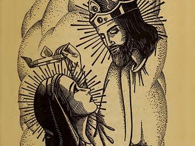 Bp. Fulton Sheen 15 Rosary Mysteries CORONATION