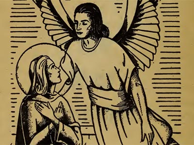 Bp. Fulton Sheen Rosary Mysteries ANNUNCIATION