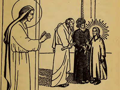 Bp. Fulton Sheen 15 Rosary Mysteries FINDING CHILD JESUS IN TEMPLE