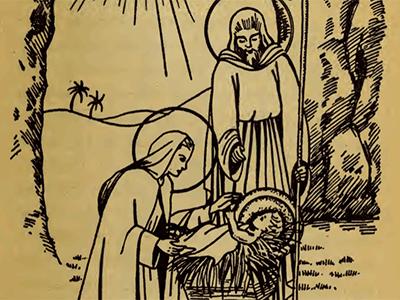 Bp. Fulton Sheen 15 Rosary Mysteries NATIVITY