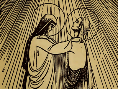 Bp. Fulton Sheen 15 Rosary Mysteries VISITATION