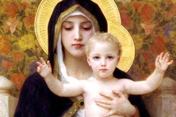 Jesus Living In Mary Prayer