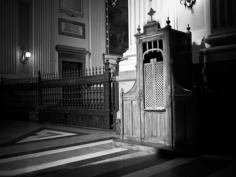 Confessional: Sacrament of Penance