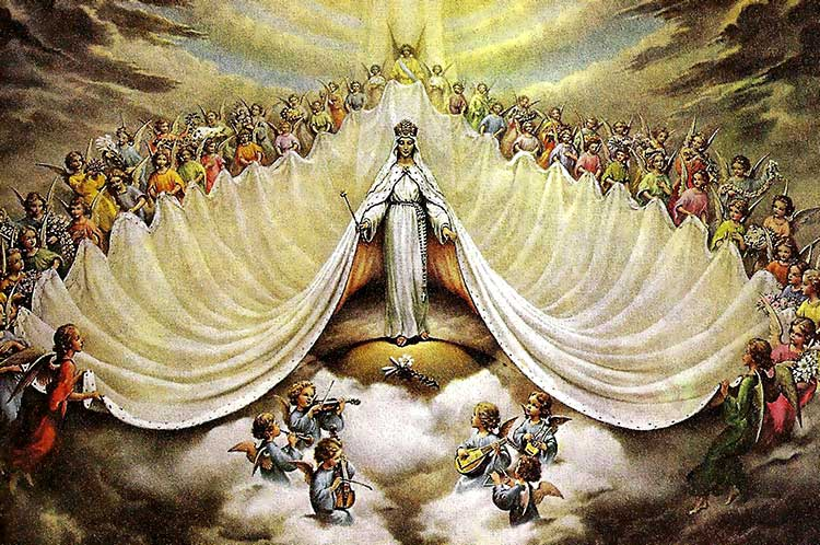 The Blessed Virgin Mary, Sovereign Queen of Heaven and Earth