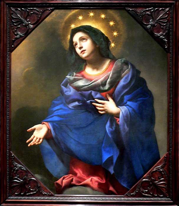 "Crown of Twelve Stars Devotion (""Madonna in Glory"", Carlo Dulci c. 1670)"